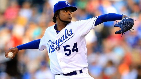 Ervin Santana with a strong Braves debut: 8 innings in what looks like a win over the Mets.