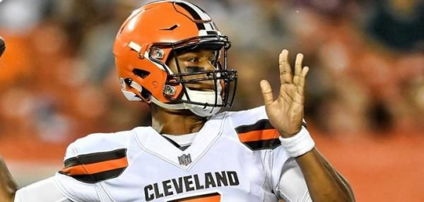 Three weeks into his first NFL preseason, DeShone Kizer emerged as the starting quarterback of the Cleveland Browns.