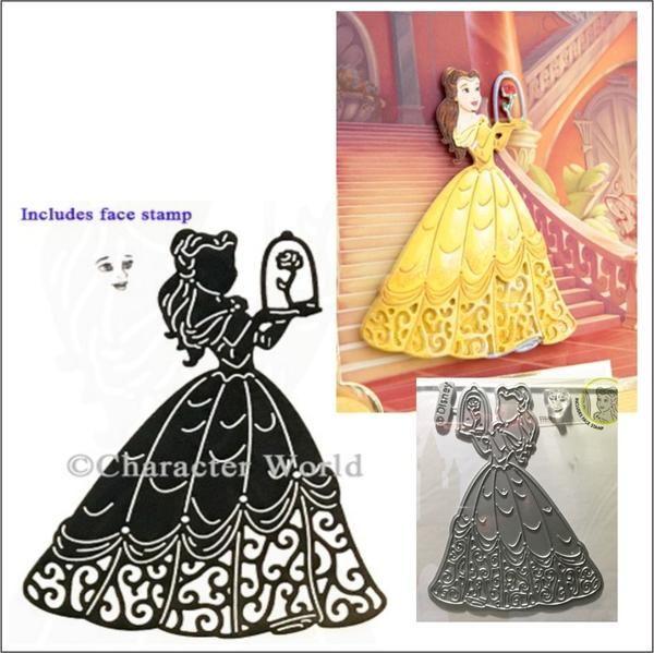 Captivating Cinderella Disney Princess metal die DUS0640 Character World dies
