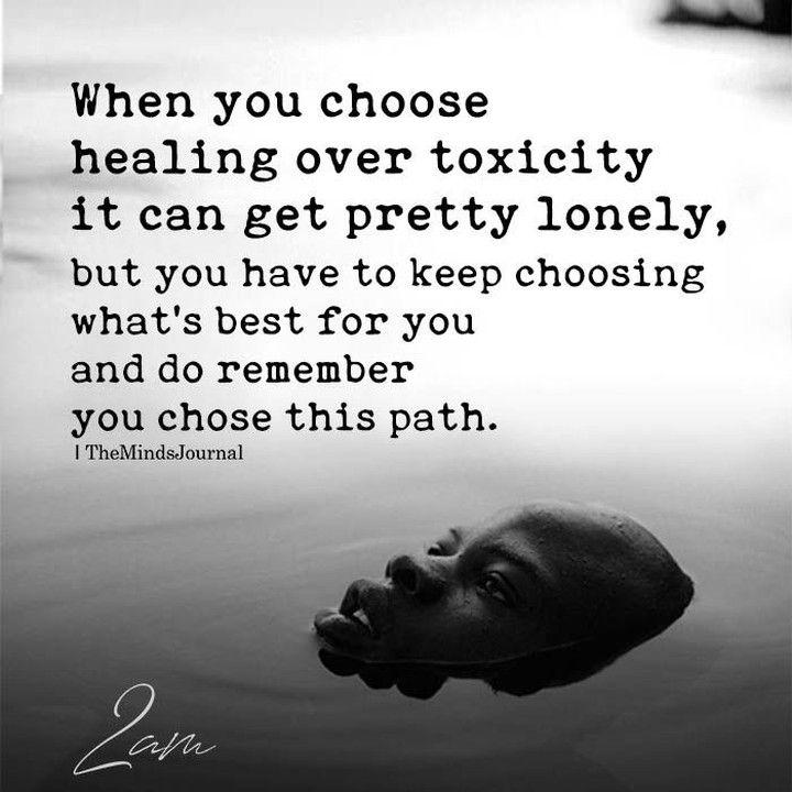 Ugly side of healing