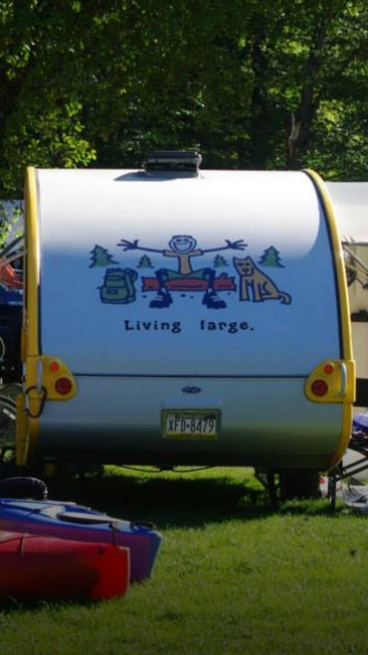 Posted in retro vintage tagged classic cars teardrop caravan vintage - T With Decals