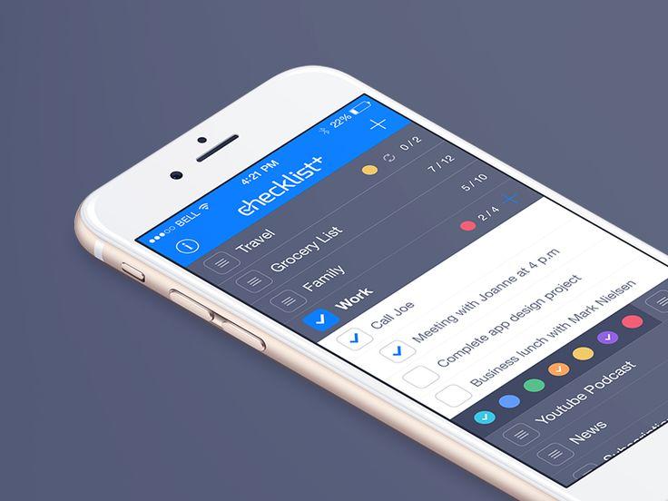 Checklist iOS App