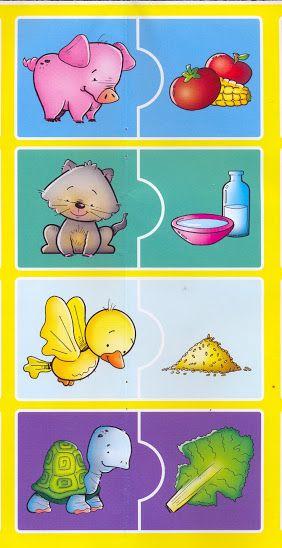 puzzle animals