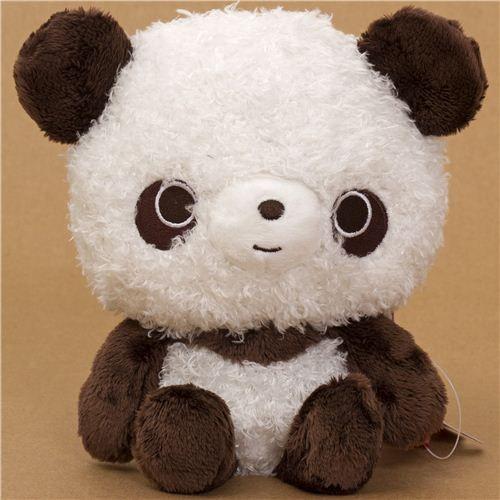 kawaii brown-white Chocopa plush bear by San-X