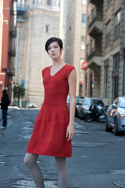Soho Smocked Dress by Kristina McGowanclose- If I ever get around to knitting myself something... this might be an idea!