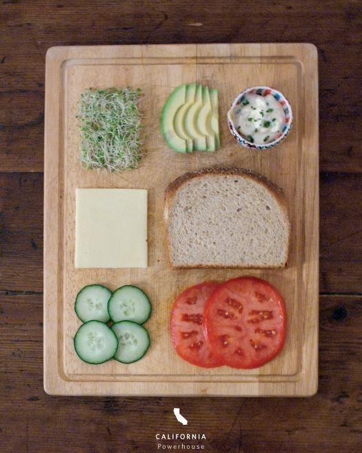 sandwich in California:Powerhouse