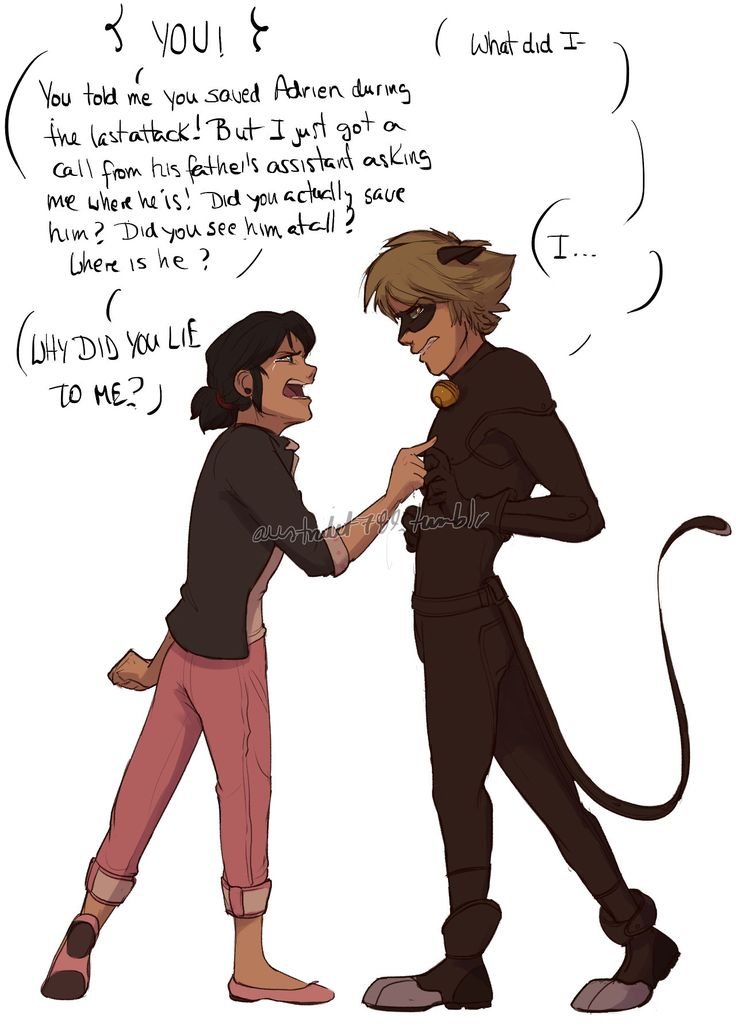 Marichat May Day 29: The argument You would end up runing out of excuses, kid.