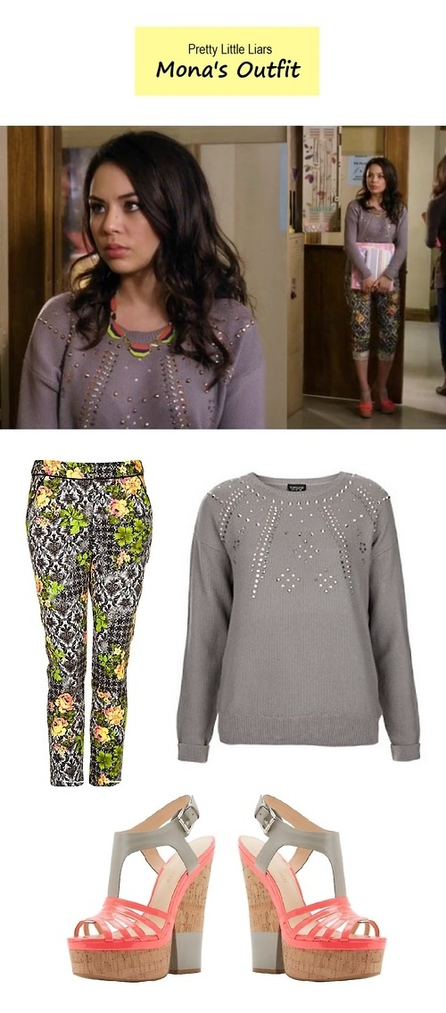 "Janel Parrish as Mona Vanderwaal in Pretty Little Liars - ""A is for A-l-i-v-e"" (Ep. 401) 