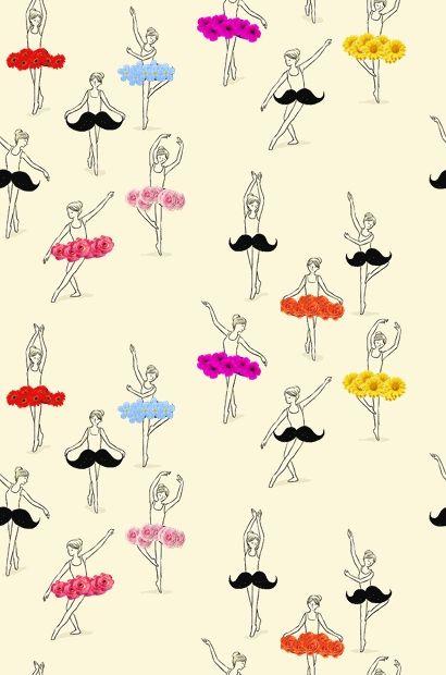 danse - pattern - wallpaper  - for more inspiration visit http://pinterest.com/franpestel/boards/