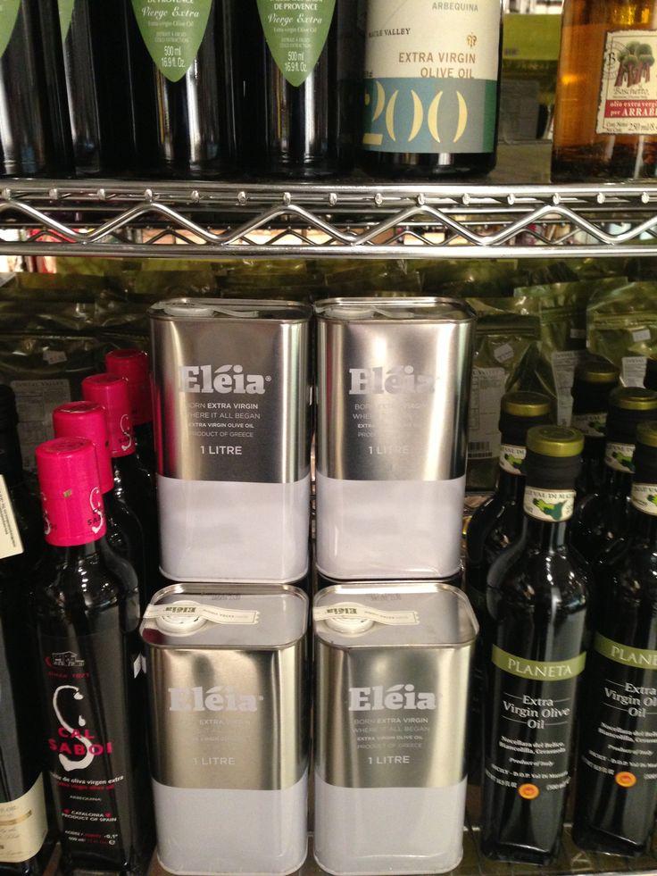 Eleia Olive Oil 1lt Tin