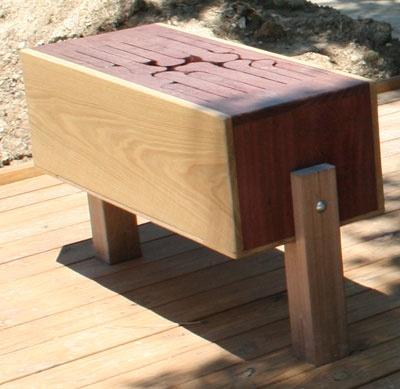 outdoor tongue drum