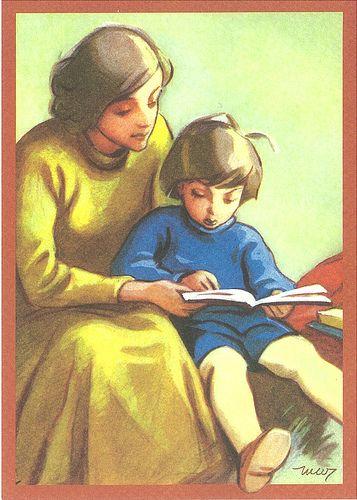 Así se empieza a leer, dedicando un rato a la lectura desde muy pequeños (Martta Wendelin)