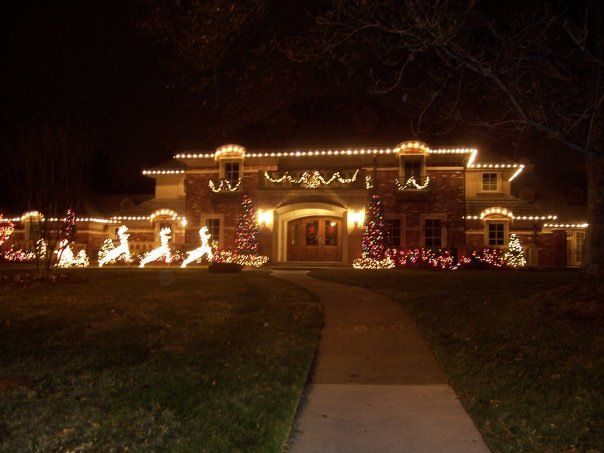 9 best outdoor christmas lighting images on pinterest outdoor outdoor christmas lighting aloadofball Image collections