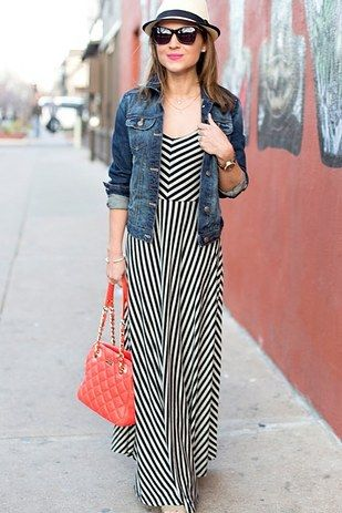 "I need this dress! ""With maxis, pay extra attention to silhouette. 