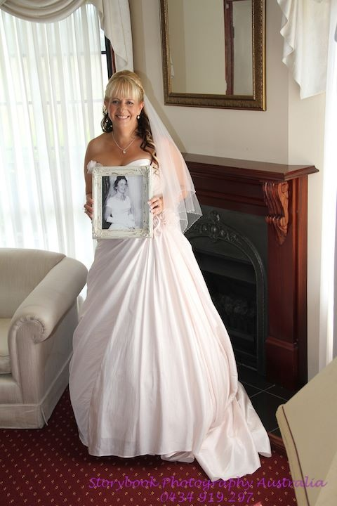 Mum past away prior to my wedding so a photo from her wedding day there on the day was very special.  Photography by Storybook Photography - NSW Australia