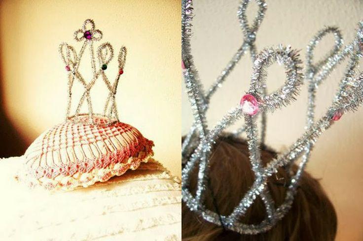Ideas diy de c mo hacer coronas de reyes magos o tiraras de princesa corona ideas and diy and - Ideas para reyes ...