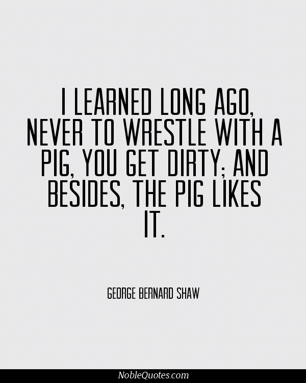 """something to think of before pressing """"send"""" or """"post"""". George Bernard Shaw Quotes 