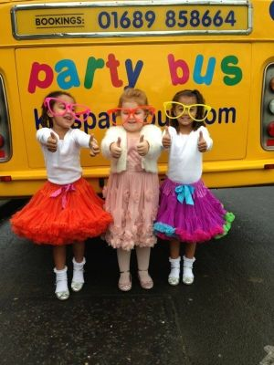 Kids Party Bus Party Bus - Fun - Food - Games