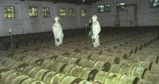 Η Ρωσία κατέστρεψε το 989% των χημικών της όπλων