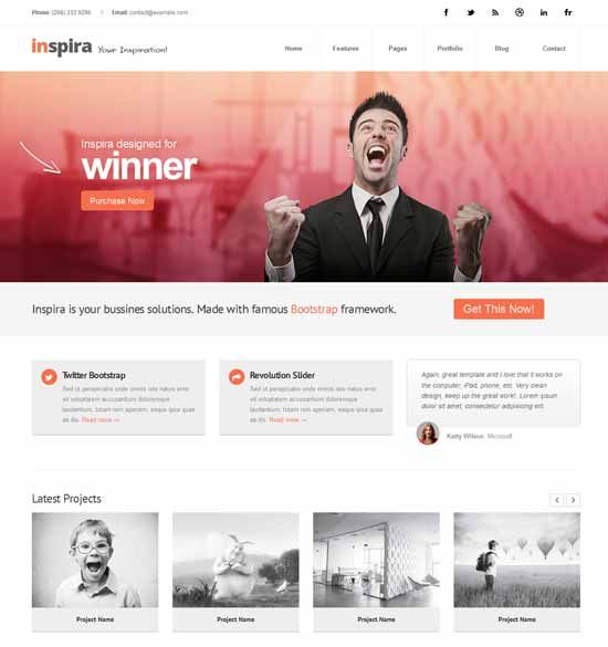 The 51 best html5 templates images on pinterest design websites today we are going to cover free premium business consulting website templates with jquery slider for powerful online business that combines the accmission Gallery