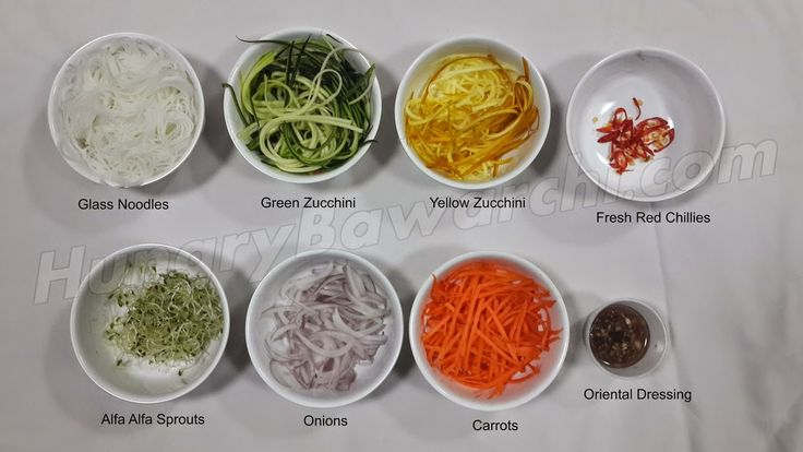 The Hungry Bawarchi: Glass Noodle Salad with Oriental Dressing