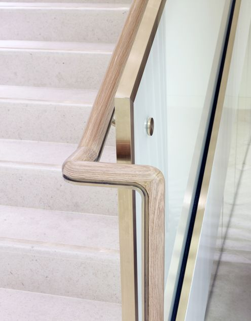 25 best ideas about stair handrail on pinterest for Furniture connection