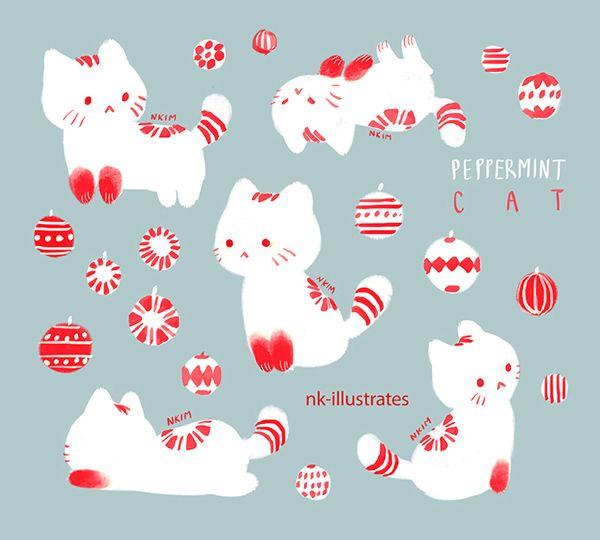 Peppermint Cat