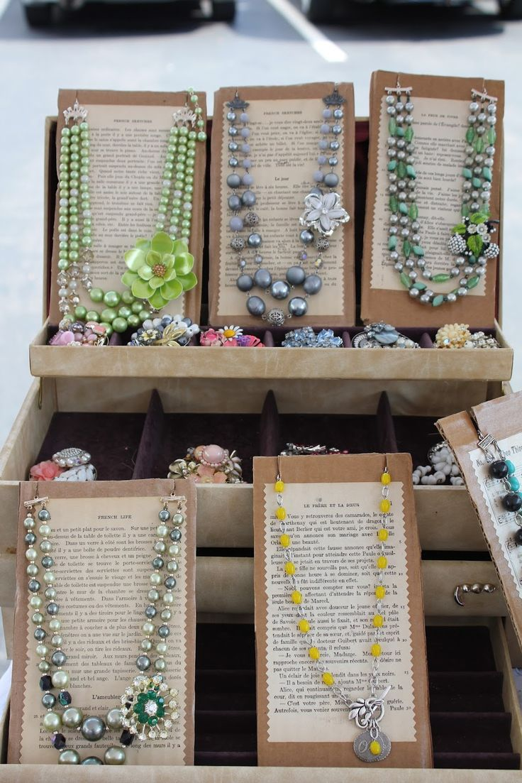Looking Forward Display Ideas For Jewelryjewellery