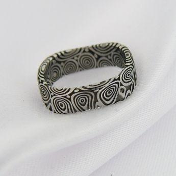 Elrond ~ damasteel šperky a prsteny Cubick
