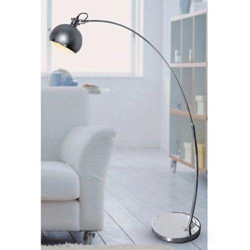 Bogenlampe mit Dimmer Stehlampe Lounge Standleuchte Leselampe Boden-Lampe Licht in Möbel & Wohnen, Beleuchtung, Lampen | eBay!