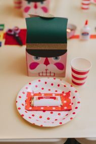 The Nutcracker is a holiday must and as a theme for a big 2nd birthday bash? Um, even better.  Megan Wappel Designs took the essence of this famous ballet and transformed it into a dream of a party fo