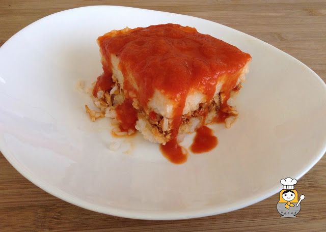 Pastel de arroz - Vuelta y Vuelta