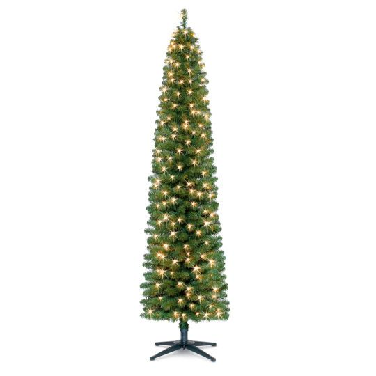 <div><div>Make a unique statement this season with this beautiful pencil Christmas tree. This sl...