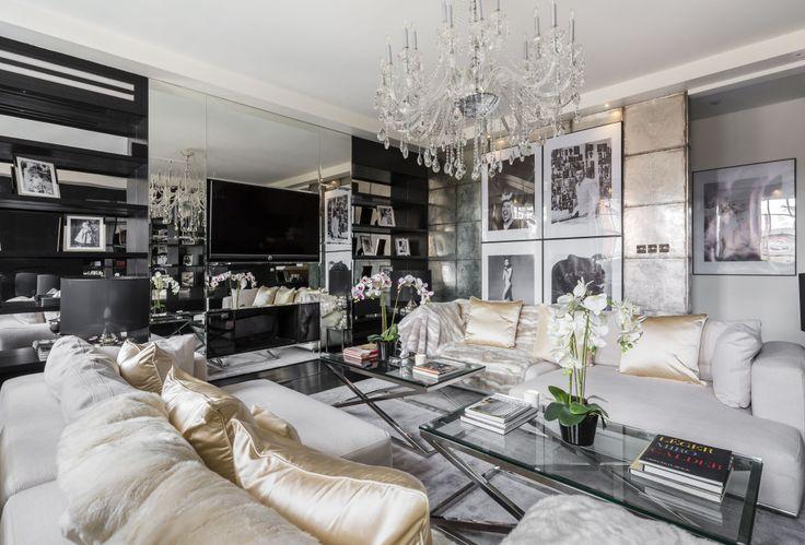 Inside Alexander McQueen's former London penthouse flat.
