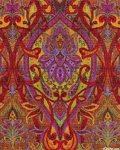 Rajasthan - Palace Paisley - Peacock -