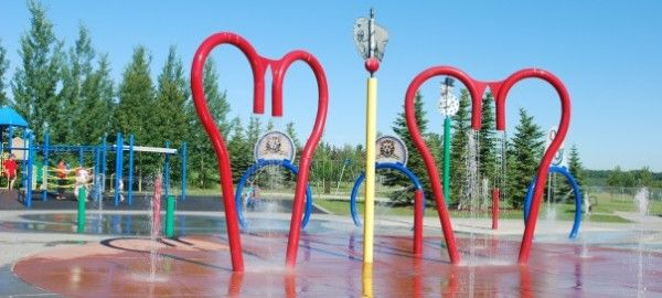 Summer Water Fun: Calgary's Spray Parks and Wading Pools - 2014 - calgaryplaygroundreview.com