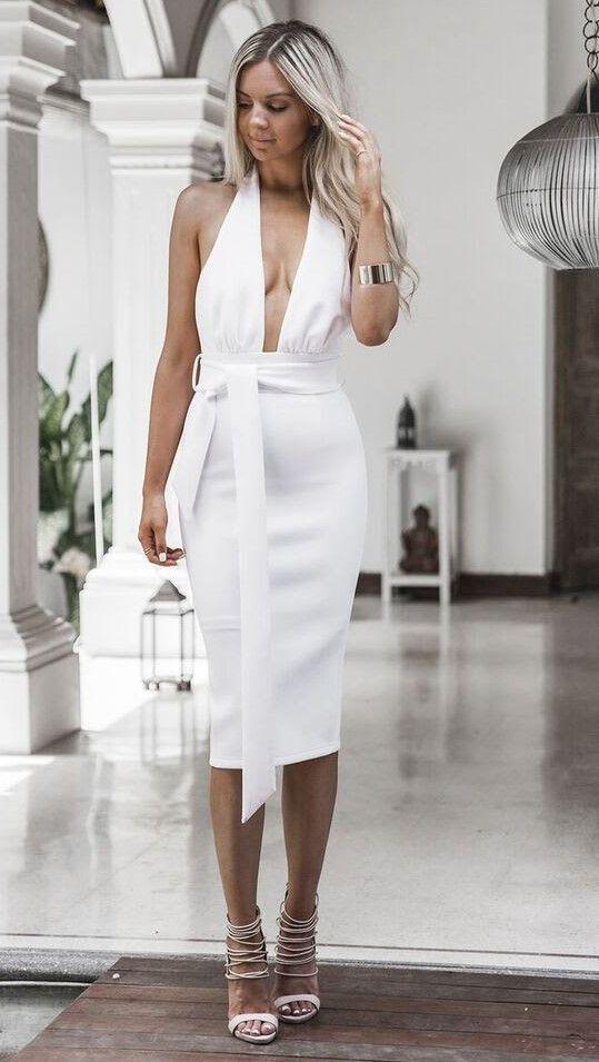 Sundays the Label - Pia Dress - White