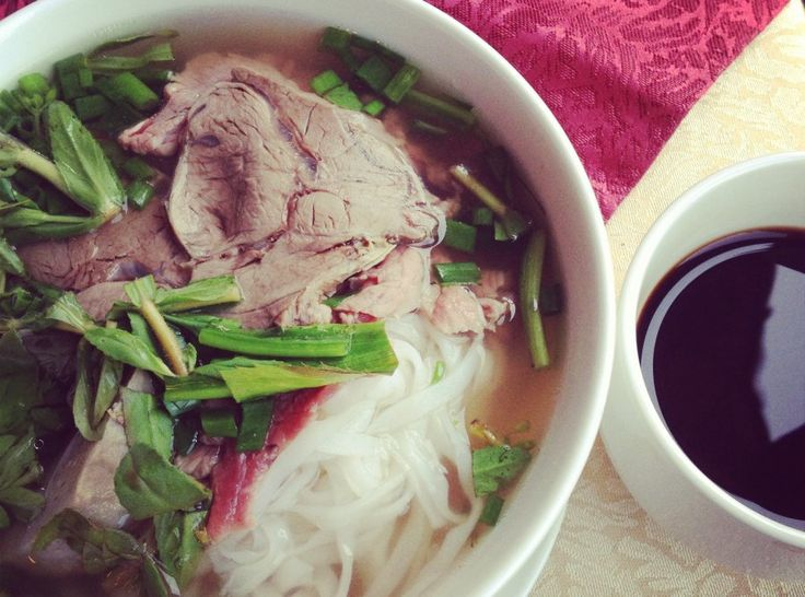 How To Eat A Bowl Of Pho Like You Know What You're Doing.  Vietnamese noodle soup, it's what's for breakfast