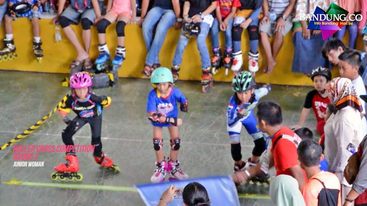 Lomba Sepatu Roda Skate Cross di Kejuaraan Sepatu Roda Bekasi Open 2017
