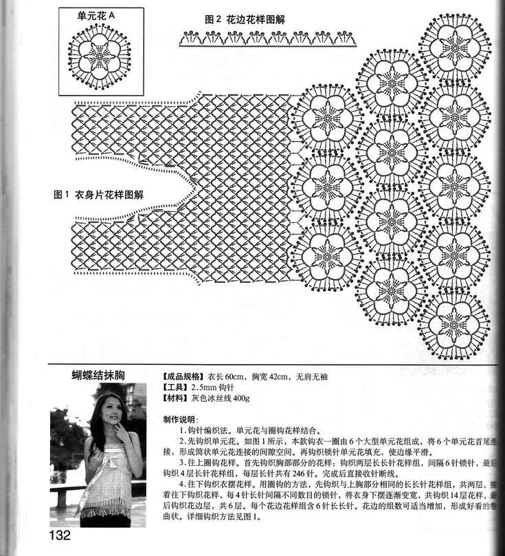 Tunica di donne bellissime. Commenti: liveinternet - Russian Servizio diari online unit rose flower crochet pattern