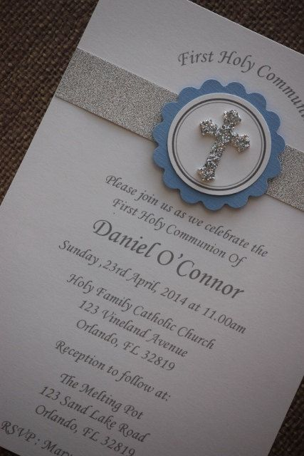 This on in pink...24x First Holy Communion/Baptism by MyPrettyLittleParty on Etsy, $42.00