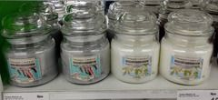 "Festive Yankee Candles spotted in Asda! There's ""Candy Cane Forest"" and ""Sunlight On Snow"". (H/T @JulietteAdAstra)"
