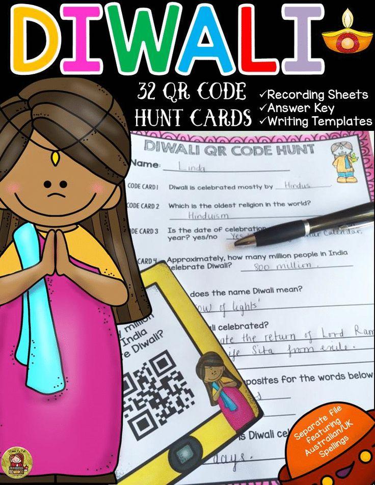 Diwali qr code hunt holidays around the world Social
