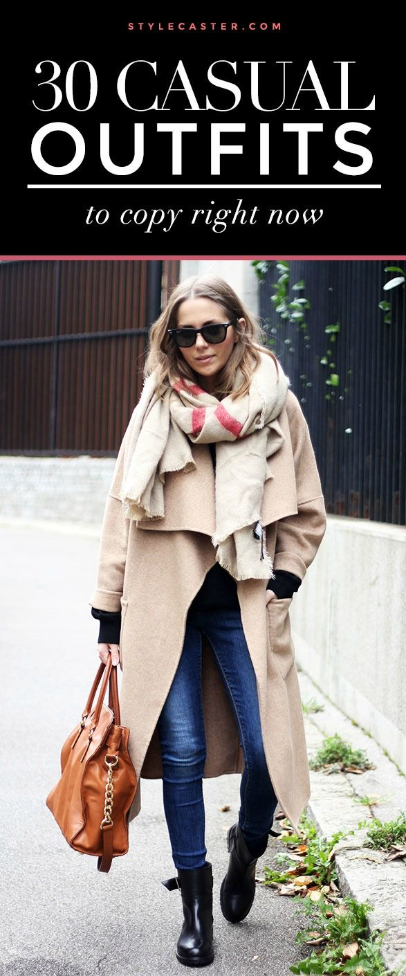 30 casual outfit ideas to copy this winter