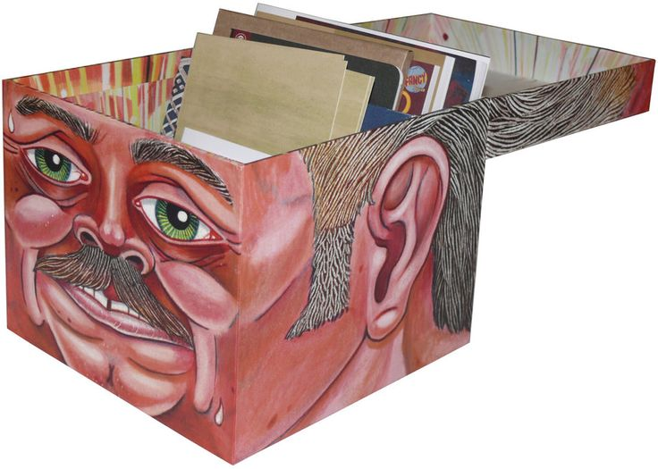McSweeney's #26: books in a box that looks like a head