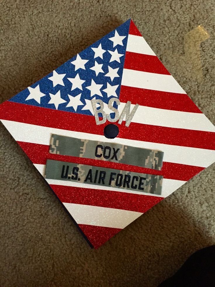 Air Force BSN Nurse Graduation Cap