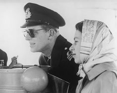 Prince Philip, seen with his wife ona tour ofthe Commonwealth, has been byher side on all state visits