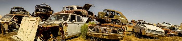 Rust never sleeps, but sometimes it takes a vacation: the dilapidated beauty of Desert Valley Auto Parts