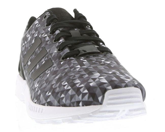 adidas originals zx flux monochrome diamond