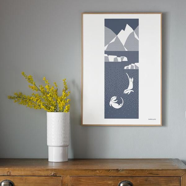Little Otters Print